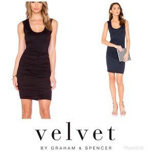 Velvet brand Varella ruched dress. NWT
